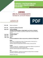 8s5 Seminario Trabajo Infantil y Politicas Públicas DESCO Perú