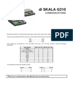 Di SKALA G310 Communications Manual