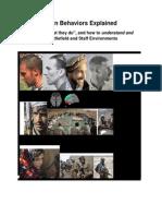 afghan behaviors explained - draft