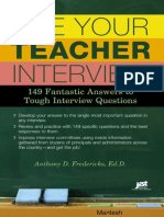 Ace Your Teacher Interview 149 Fantastic Answers to Tough Interview Questions