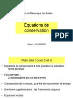 Equation Conservation