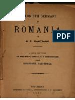 Colonistii Germani Şi România
