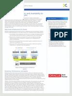 Nutanix Oracle Solution Brief