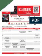 Agenda Fil AQP 2014 (actualizada)