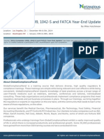 FATCA Year End Update 900150 Seminar