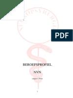 Beroepsprofiel Nederlandse Vakvereniging Neuropsyrurgie