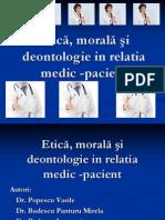 Badescu Mirela 2 Etica Morala Si Deontologie in Relatia Medic ÔÇô Pacient POIANA BRASOV 2014