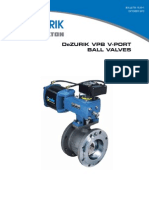 Dezurik v Port Ball Valves Vpb Sales 15-00-1