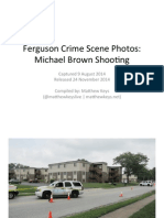 Michael Brown Shooting - Ferguson Crime Scene Photos