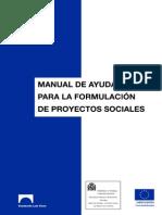 Manual de Ayuda Para La Formulación de Proyectos Sociales