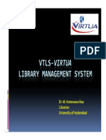 VTLS- Library Management System