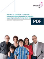 Diabetes - South Asians in UK amongst highest risk category