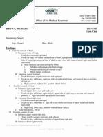 Medical Examiner - Michael Brown's Injuries