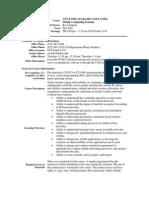 UT Dallas Syllabus for cs6392.001.07f taught by Ravi Prakash (ravip)
