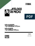 Catalogo de peças fazer 150 yamaha