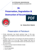 18. Preservation, Degradation & Destruction of Accumulation