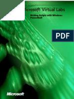 Microsoft Word - Writing Scripts With Windows PowerShelll