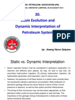 20. Basin Evolution & Dynamic Interpretation of Petroleum System