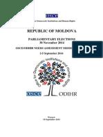 OSCE Needs Assessment Report Moldova Elections