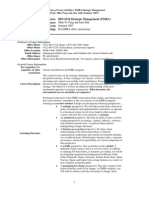 UT Dallas Syllabus for bps6310.mim.07f taught by Mike Peng (mxp059000)