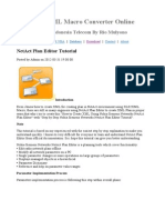 netactNetAct Plan Editor Tutorial