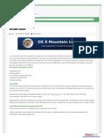 Mac Os x Instruction & Website