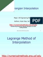 langrange equation