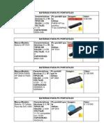 Baterias Para Pc Portatiles