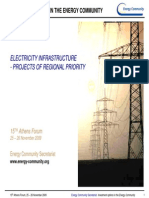 Electricity Inftrastructure - Projects of the Regional Priority