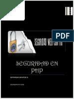 Seguridad en Php