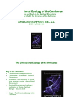 The Dimensional Ecology of Omniverse - A Presentation by Alfred Webre