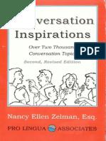 69565638 Conversation Inspirations Over 2 000 Conversation Topics by Nancy Ellen Zelman Esq