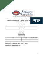 A. Pengajaran Literasi 1