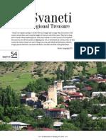 Svaneti Regional Treasure