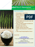 24th November 2014 Daily Global Rice E-Newsletter by Riceplus Magazine