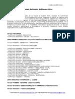 Constitucion de La Ciudad Autonoma de Buenos Aires