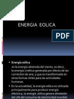 Presentación energia eolica