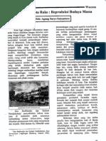 Banda Aceh Kota Ruko_reproduksi Budaya Massa