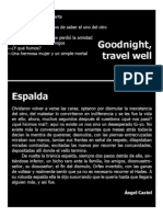 Espalda & Goodnight, travel well