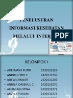 ppt PENELUSURAN INFORMASI KESEHATAN MELALUI INTERNET.pptx