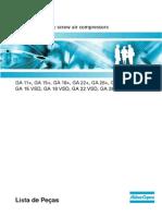 Lista de Pecas GA15-30 VSD 2008