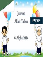 Poster Jamuan Akhir Tahun
