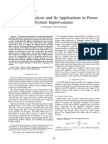 Sensitivity Analysis and Its Applications in Power System Improvements