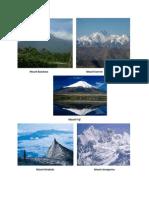 Mount BanahawMount Everest.docx
