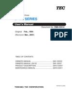 TEC B-470 Maintenance Manual