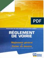 MPM - Reglement Voirie