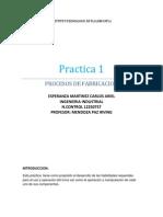 Practica  procesos de operacion