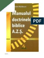Manualul Doctrinelor Biblice by Moldovan Vilhelm