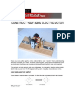 Construct Electric Motor