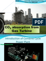 CO2 Absorption from CCPP Pakistan